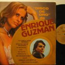 ENRIQUE GUZMAN mexico LP DISCO DE ORO Rock SPANISH PRINT HARMONY