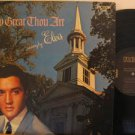 ELVIS PRESLEY usa LP HOW GREAT THOU ART Rock RCA