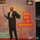 EDMUNDOO ROS usa LP MORE ROS ON BROADWAY Easy BLUE BACK STEREO/SMALL WRITING ON