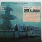DUKE ELLINGTON usa LP MIDNIGHT IN PARIS Jazz COLUMBIA