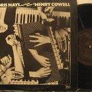DORIS HAYS usa LP THE PIANO MUSIC OF HENRY COWELL Classical FINNADAR
