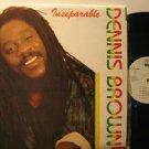 DENNIS BROWN jamaica LP INSEPARABLE Reggae WKS excellent