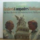DAVE BRUBECK & GERRY MULLIGAN usa LP COMPADRES Jazz COLUMBIA