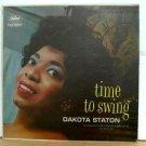 DAKOTA STATON usa LP TIME TO SWING Jazz CAPITOL