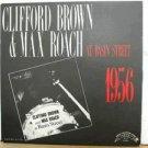 CLIFFORD BROWN & MAX ROACH usa LP AT BASIN STREET Jazz PRIVATE