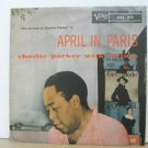 CHARLIE PARKER usa LP APRIL IN PARIS Jazz VERVE
