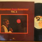CHARLES AZNAVOUR france LP SINGS AZNAVOUR VOL.2 French BARCLAY 80418