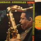 CANNONBALL ADDERLEY usa LP LIVE Jazz CAPITOL excellent
