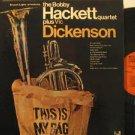 BOBBY HACKETT & VIC DICKENSON usa LP PLUS Jazz FOLDOUT PROJECT