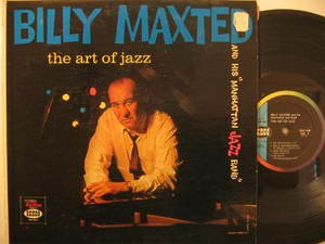 BILLY MAXTED usa LP THE ART OF JAZZ SEECO excellent