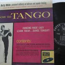 BETTY WHITE latin america LP HOW TO TANGO PRIVATE