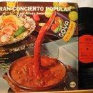 ARTURO SOMOHANO usa LP GRAN CONCIERTO POPULAR Latin GOYA excellent