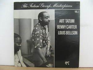 ART TATUM usa LP THE TATUM GROUP MASTERPIECES Jazz PABLO