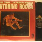 ANTONINO ROCCA usa LP IN THIS CORNER Vocal IN SHRINK WRAP/PUNCHED HOLE MGM excel
