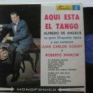 ALFREDO DE ANGELIS latin america LP AQUI ESTA EL TANGO FUENTES