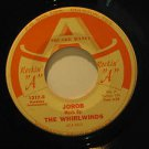 """WHIRLWINDS usa 45 JOROB/WHIPPER 7"""" Country SQUARE DANCING ROCKIN A"""