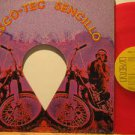 """VILLAGE PEOPLE mexico 12"""" ACTION MAN/BIG MAC/5 O'CLOCK IN THE Pop RED VINYL/WHIT"""
