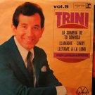 "TRINI LOPEZ mexico EP LA SOMBRA DE TU SONRISA 7"" Vocal PICTURE SLEEVE REPRISE"