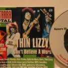 THIN LIZZY colombia CD GUITARRA TOTAL N.20 Rock SAMPLER MC excellent