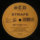 "STRAFE usa 12"" SET IT OFF/ROCK THE WORLD Dj MIAMI MUSIC/WHITE JACKET STD"
