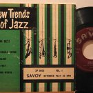 "STAN GETZ usa EP NEW TRENDS OF JAZZ 7"" PICTURE SLEEVE SAVOY"