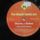"""SKYNET & STAKKA usa 12"""" THE BLAZING REMIX Dj WHITE JACKET UNDERFIRE"""