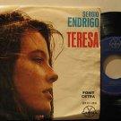 """SERGIO ENDRIGO mexico EP TERESA 7"""" Brazil PICTURE SLEEVE GAMMA"""