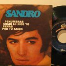 "SANDRO mexico 45 PENUMBRAS 7"" Vocal PICTURE SLEEVE EPIC"