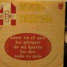 "ROCIO DURCAL mexico EP AMOR EN EL AIRE 7"" Latin PICTURE SLEEVE PHILIPS"