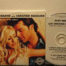 RICKY MARTIN & CHRISTINA AGUILERA colombia CD NOBODOY WANTS TO BE LONELY Pop PRO