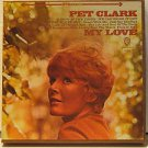 PETULA CLARK usa MY LOVE Vocal REEL TO REEL 4 TRACK TAPE/3 3/4 IPS WB