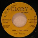 "OTIS WRIGHT jamaica 45 TAKE UP THE CROSS/THE MAN OF GALILEE 7"" Gospel WRITING ON"