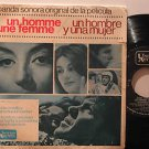 "NICOLLE CROISILLE spain 45 UN HOMBRE Y UNA MUJER 7"" OST PICTURE SLEEVE UNITED AR"