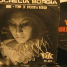 "LUCRECIA BORGIA argentina 45 DIME 7"" Rock PICTURE SLEEVE VIK"