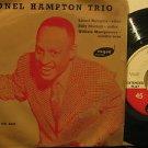 "LIONEL HAMPTON u.k. 45 TRIO 7"" Jazz PICTURE SLEEVE VOGUE"