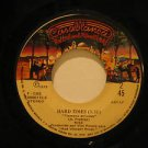 """KISS peru 45 I WAS MADE FOR LOVING YOU/HARD TIMES 7"""" Rock LABEL IN SPANISH TOO C"""