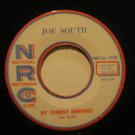 "JOE SOUTH usa 45 MY FONDEST MEMORIES 7"" Rock THE PURPLE PEOPLE EATER MEETS THE W"