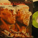 "JERRY GOLDSMITH mexico 45 PAPILLON 7"" OST PICTURE SLEEVE ODEON"