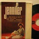 """JENNIFER france EP MAIS QU'EST QUE CA 7"""" French PICTURE SLEEVE COLUMBIA"""