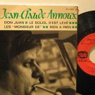 "JEAN CLAUDE ANNOUX france EP DON JUAN 7"" French PICTURE SLEEVE PATHE"