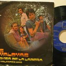 "JAVALOYAS spain 45 LA CHICA DE LA LADERA 7"" Rock PICTURE SLEEVE/SMALL WRITING ON"