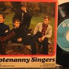 "HOOTENANY SINGERS sweden 45 BJORKENS 7"" Rock PICTURE SLEEVE POLA"
