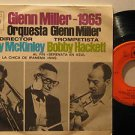 "GLENN MILLER mexico 45 1965 7"" Jazz PICTURE SLEEVE/STICKER ON LABEL CBS"