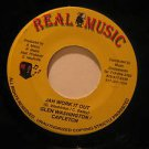 "GLEN WASHINGTON/RHYTHM jamaica 45 JAH WORK IT OUT/IDENTIFY 7"" Reggae REAL MUSIC"