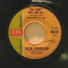 "GLEN HARRISON usa 45 YOU CAN'T WIN 'EM ALL/GREEN TO BLUE 7"" Vocal PROMO IMPERIAL"