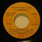 "GIORGIO MORODER ecuador 45 TO BE NUMBER ONE 7"" Rock LABEL IN SPANISH TOO EMI"
