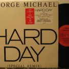 "GEORGE MICHAEL usa 12"" HARD DAY Pop PROMO COLUMBIA excellent"