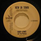 """GARY LEWIS mexico 45 NEW IN TOWN/JILL 7"""" Rock PROMO/WHITE LABEL LIBERTY"""