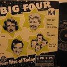 """FRANKIE LAINE/ROSEMARY CLOONEY/DORIS DAY u.k. 45 THE BIG FOUR No.4 7"""" Vocal PICT"""