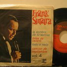 """FRANK SINATRA mexico 45 VOL.4 7"""" Vocal PICTURE SLEEVE REPRISE"""